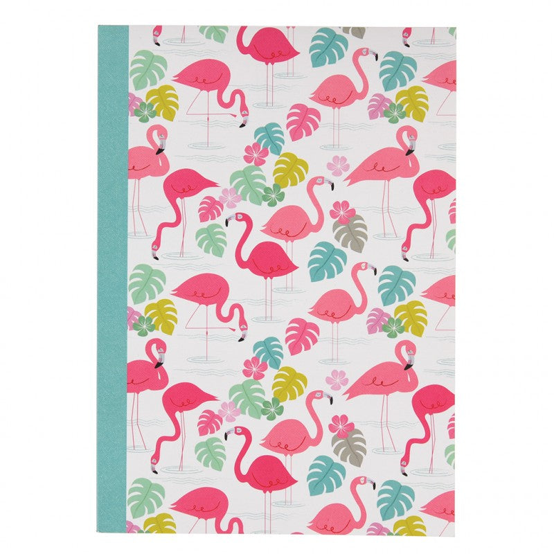 Rex London Schrift A5 - Flamingo Bay