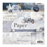 Studio Light Paper pad 36 vel Snowy Afternoon nr.125 15x15cm