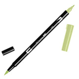 Tombow ABT Dual Brush Pen 131 Lemon Lime - JournalnStuff
