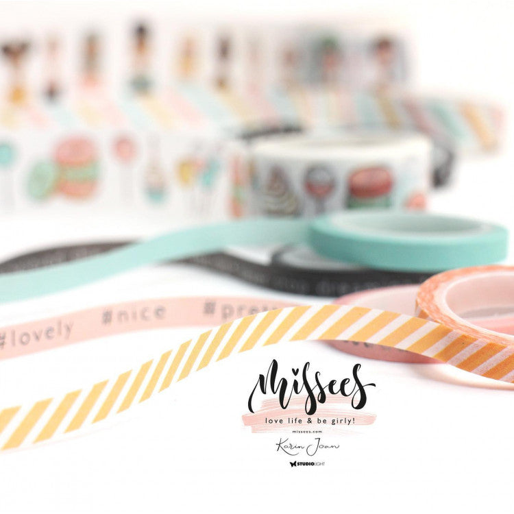 Washi Tape Karin Joan Missees Collection nr.04