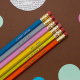 Pencil Set Book Lovers