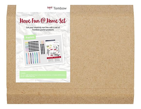 Tombow Have Fun @ Home Set - Pastel Colors