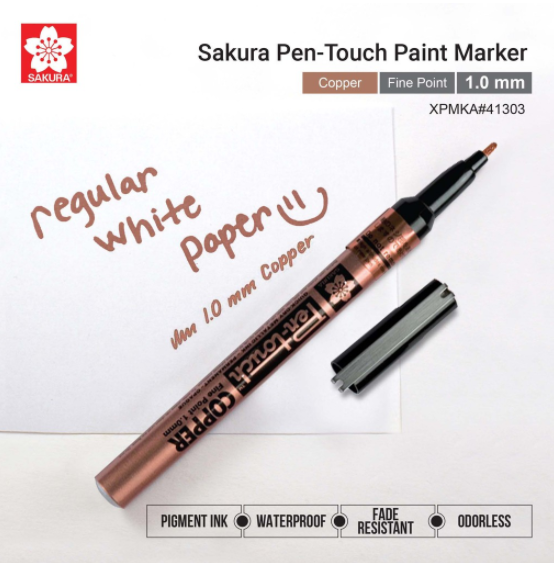 Sakura Pen-touch verfmarker - Copper Fine