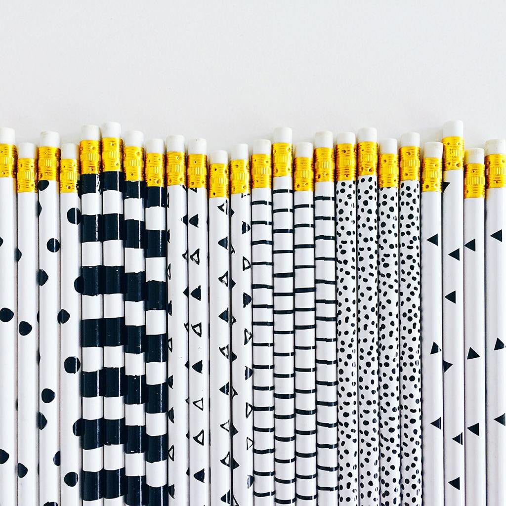 Studio Stationery Pretty Prints Pencil Set