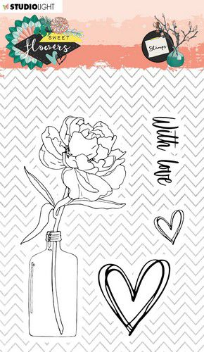Studio Light Clear Stamp - Sweet Flowers nr.436