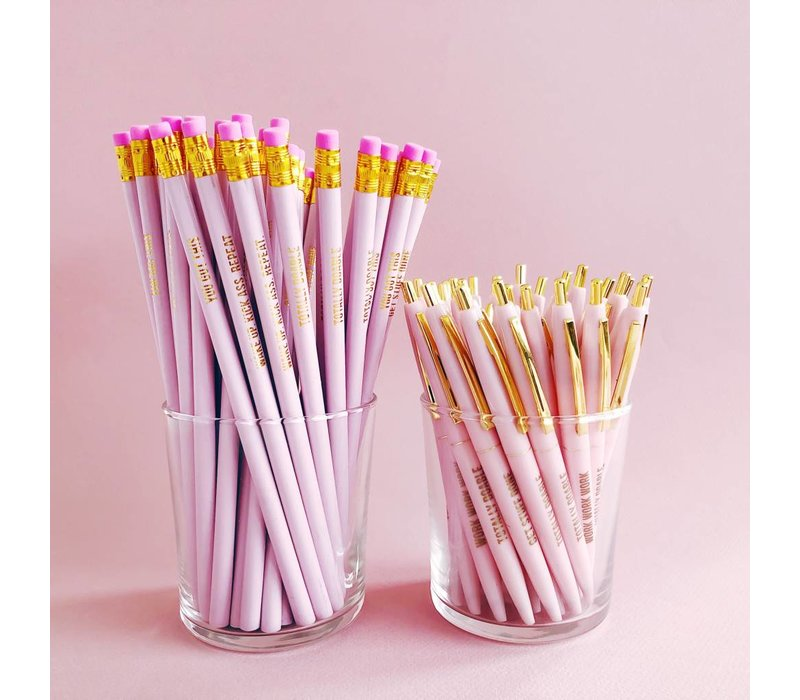 Studio Stationery -Pretty Pink Balpen set
