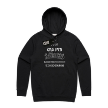 Load image into Gallery viewer, 'Rewind' Black Hoodie
