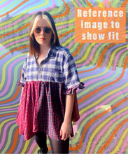 Load image into Gallery viewer, Deconstructed Shirt Dress