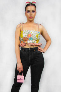 Flower Power Crop Top