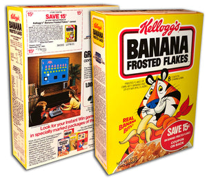 Cereal Box: Banana Frosted Flakes