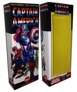 Mego Captain America Box: #100