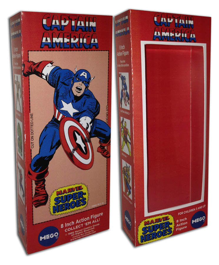Mego Captain America Box: 1966
