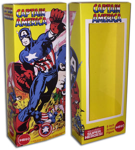 Mego Captain America Box: Steranko (2)