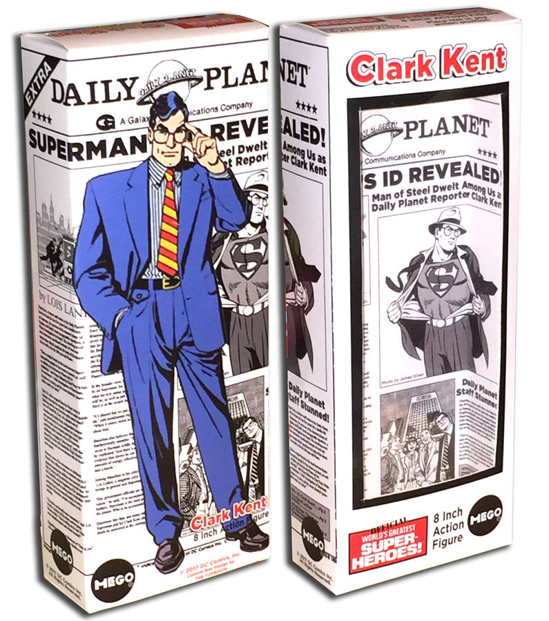 Mego Superman Box: Clark Kent