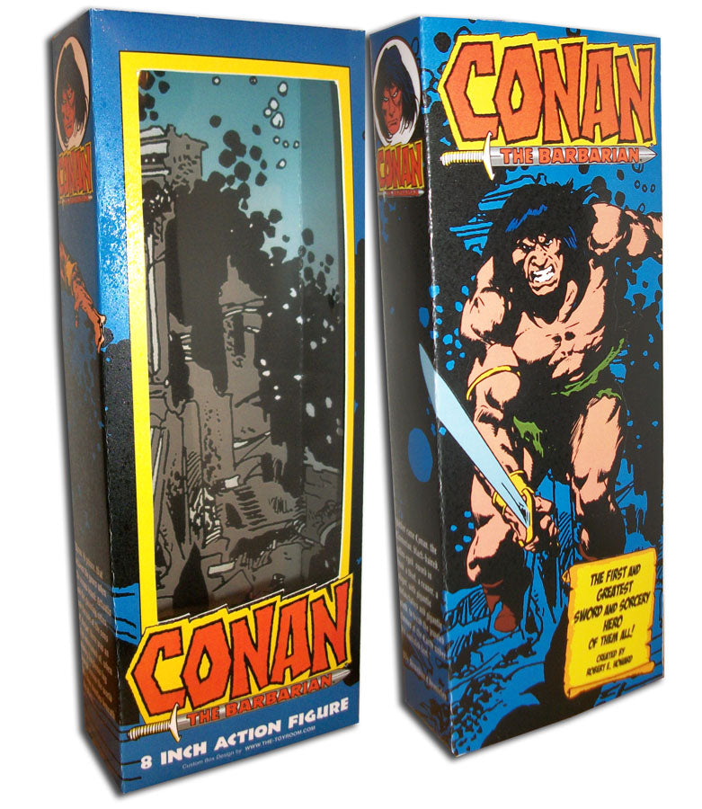 Mego Box: Conan the Barbarian (Buscema Blue)