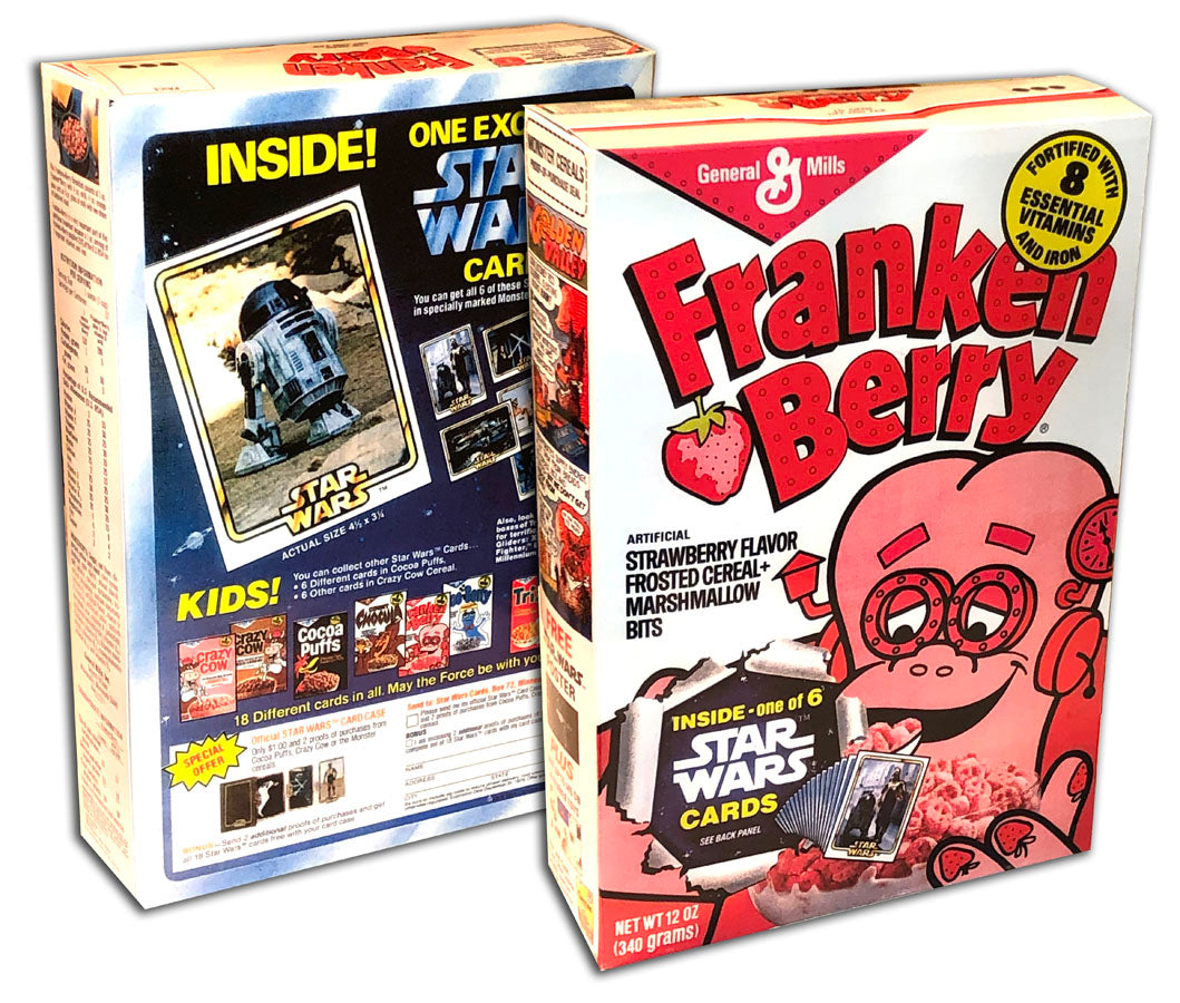 Cereal Box: Frankenberry (Star Wars Cards)