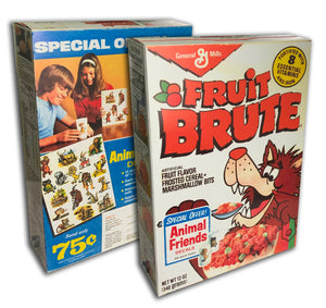 Cereal Box: Fruit Brute