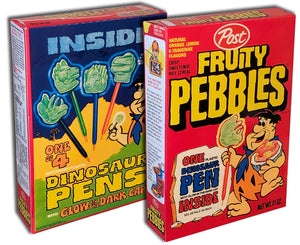 Cereal Box: Fruity Pebbles (Dinosaur Pen)