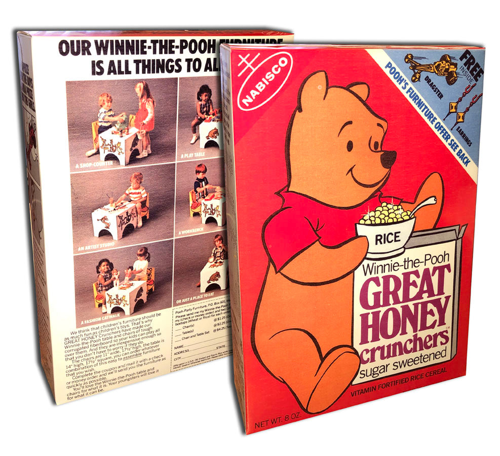 Cereal Box: Great Honey Crunchers (Pooh)