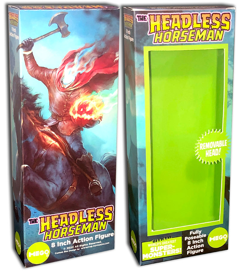 Mego Monster Box: Headless Horseman