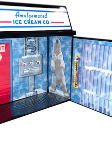 Displayset: Mr. Freeze's Frozen Fortress