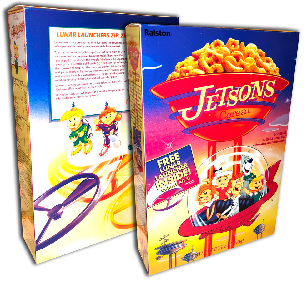 Cereal Box: Jetsons Cereal Box