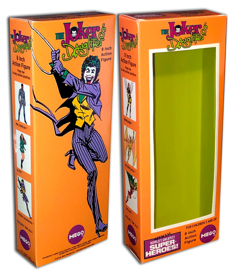 Mego Teen Titans Box: Joker's Daughter