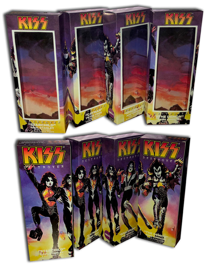 Mego KISS Boxes: Destroyer (Set of 4)