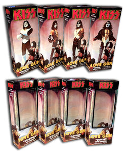 Mego KISS Boxes: Love Gun (Set of 4)