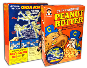 Cereal Box: Peanut Butter Crunch (Circus Acrobat)