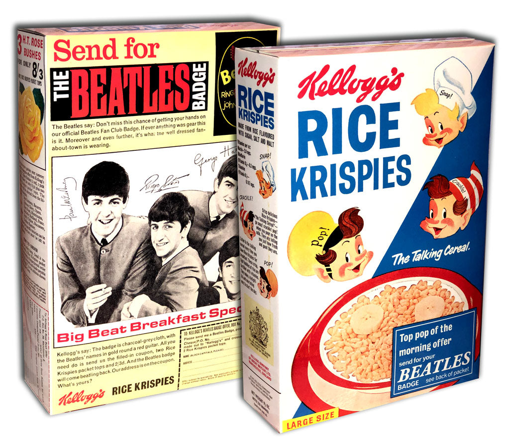 Cereal Box: Rice Krispies (The Beatles)