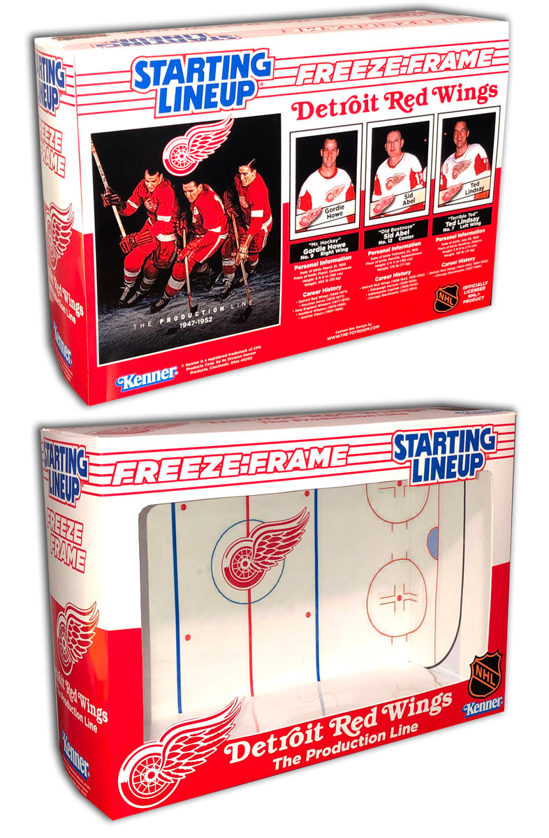 SLU: Detroit Red Wings (The Production Line)