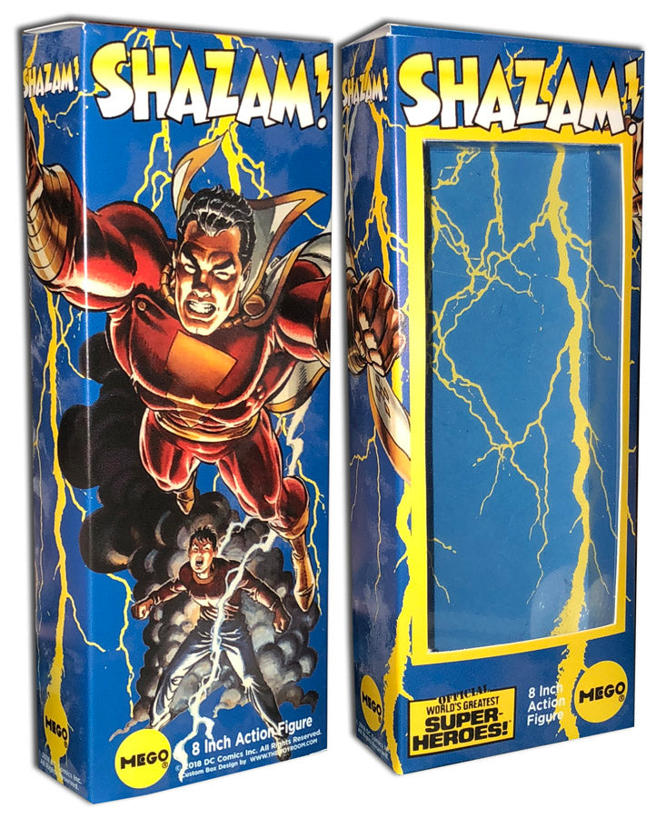 Mego Shazam Box: Power of Shazam!