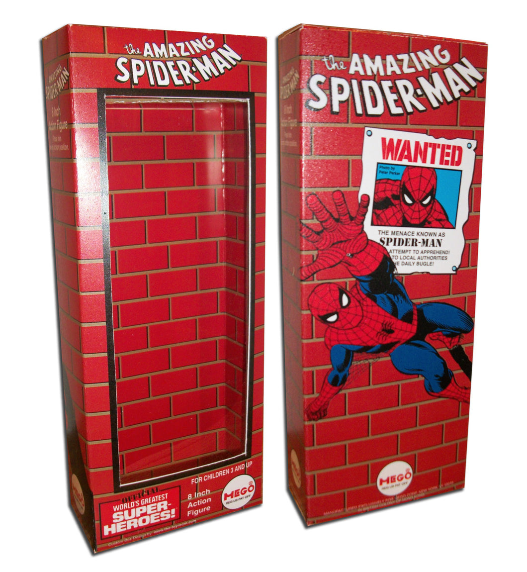 Mego Spider-Man Box: Wanted (Brick)