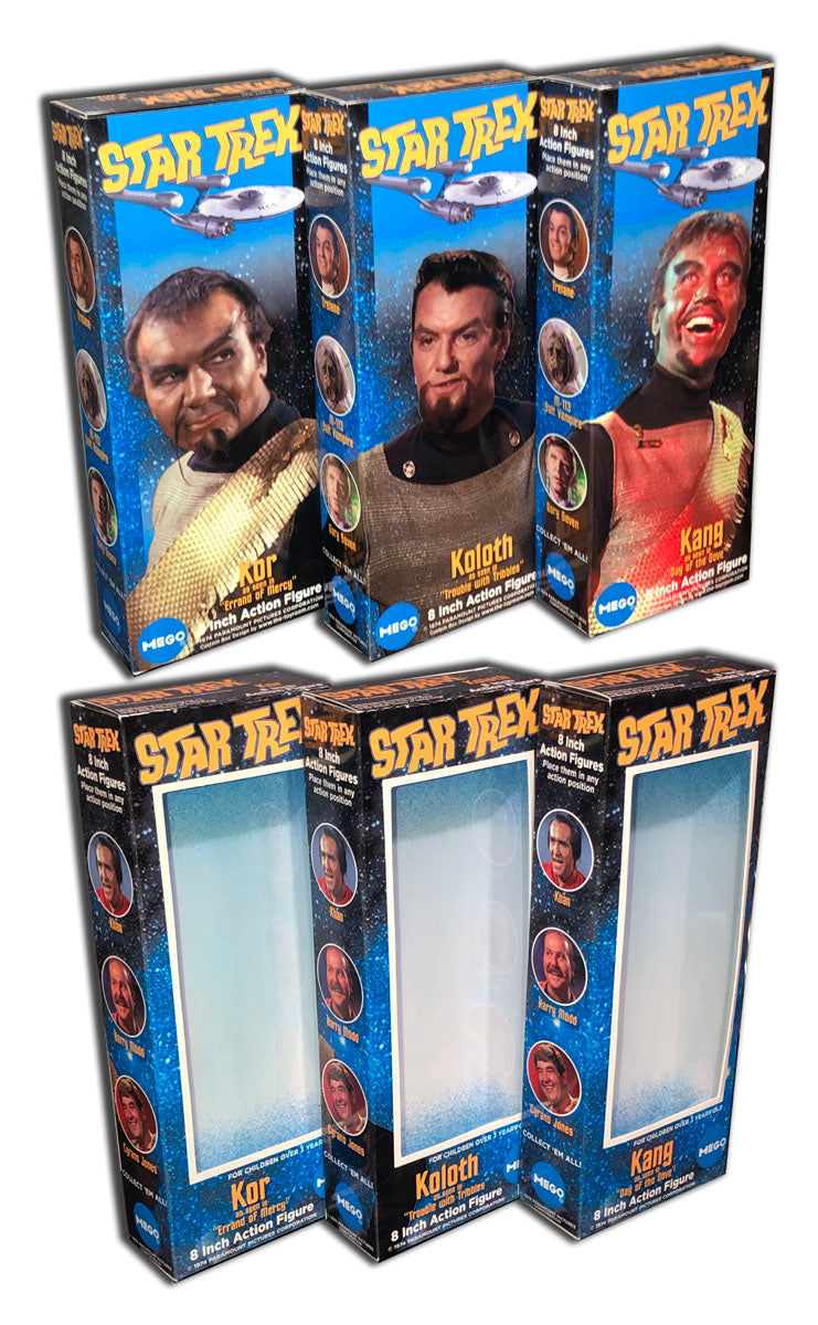 Mego Star Trek Boxes: Klingons