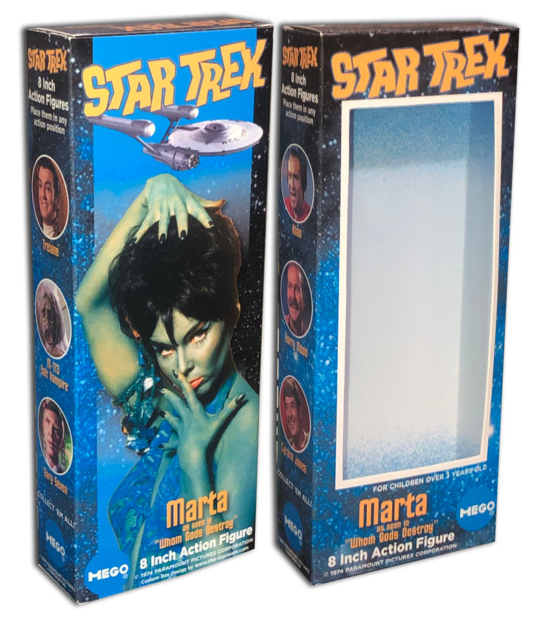 Mego Star Trek Box: Marta