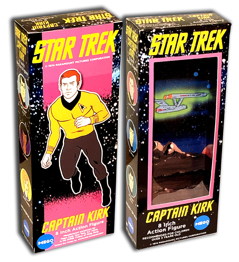 Mego Star Trek Box: Captain Kirk (Filmation)