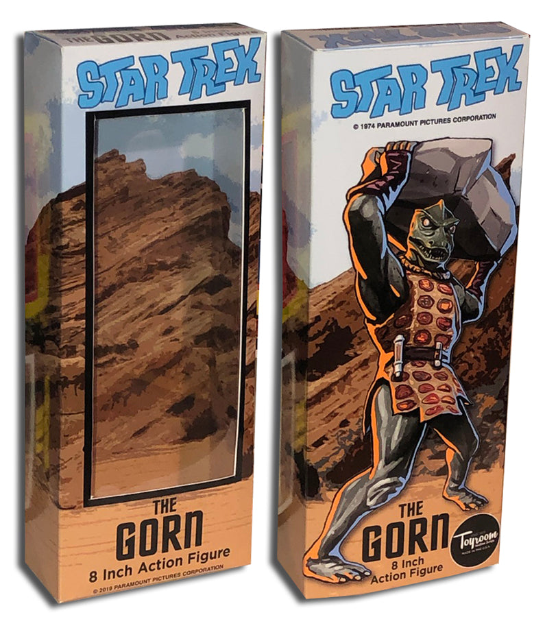 Mego Star Trek Box: Gorn