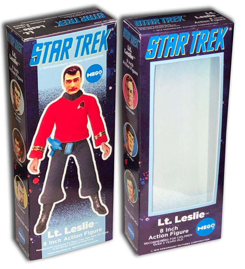 Mego Star Trek Box: TOS Lt. Leslie