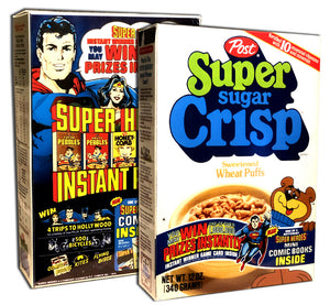 Cereal Box: Super Sugar Crisp (DC Super-Heroes)