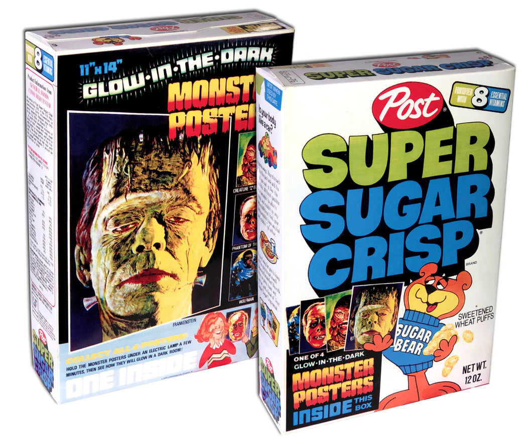 Cereal Box: Super Sugar Crisp (Monsters)