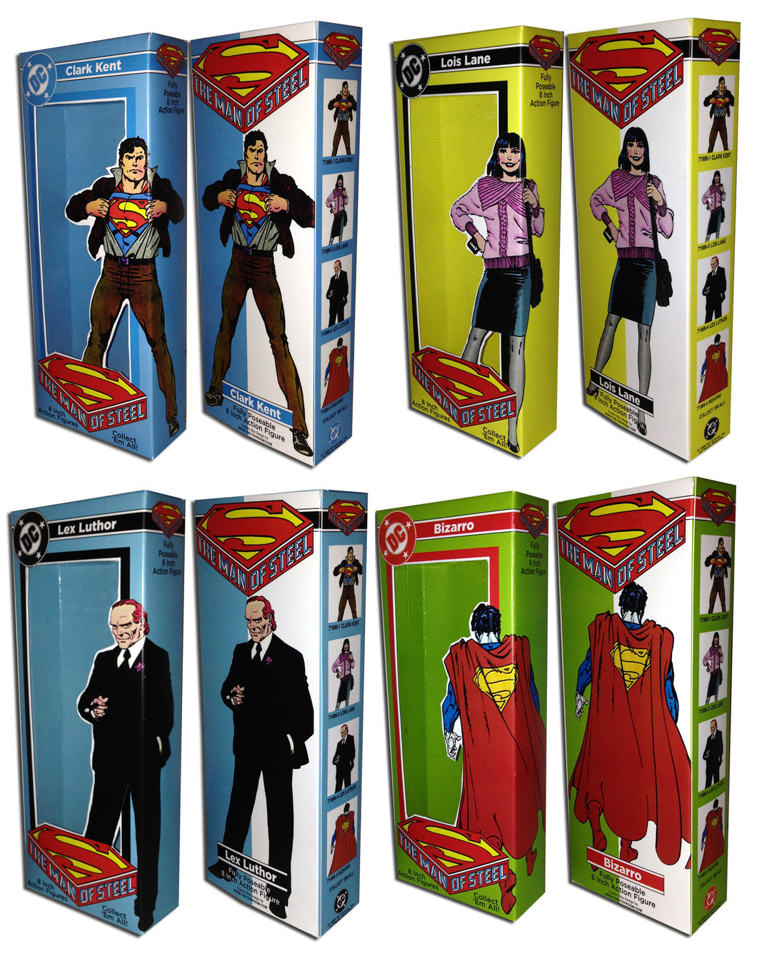 Mego Superman Boxes: Man of Steel