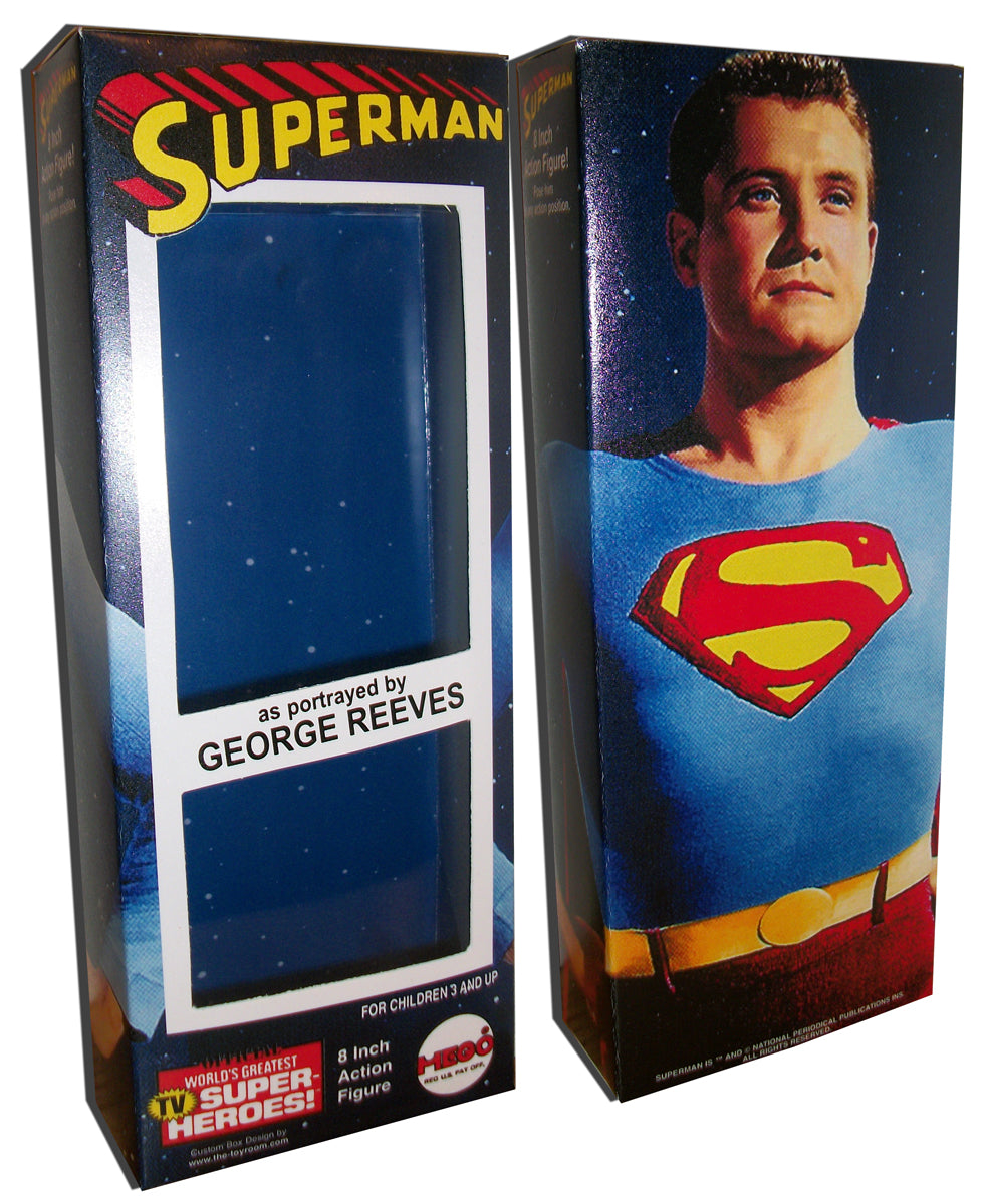 Mego Superman Box: George Reeves Color