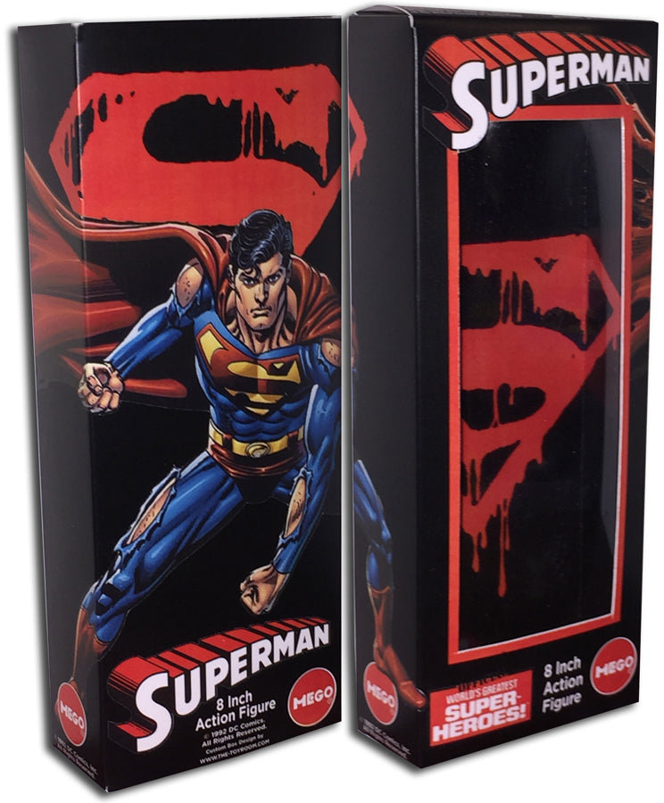 Mego Superman Box: Death of Superman