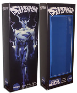 Mego Superman Box: Electric Blue