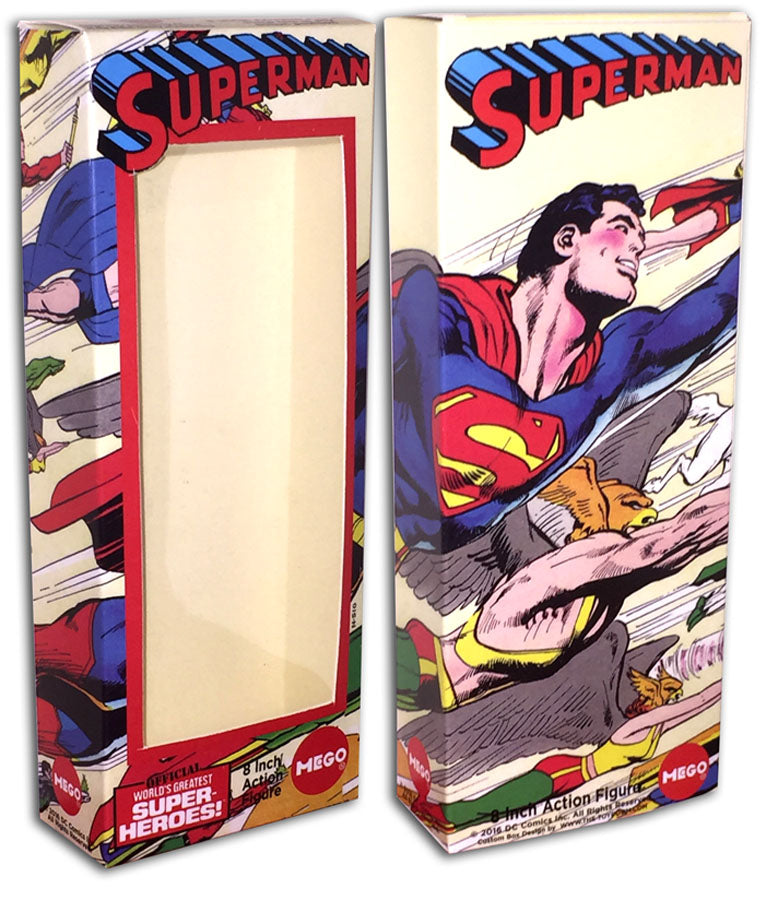 Mego Superman Box: Superman #252