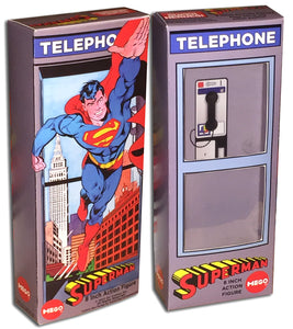 Mego Superman Box: Phone Booth