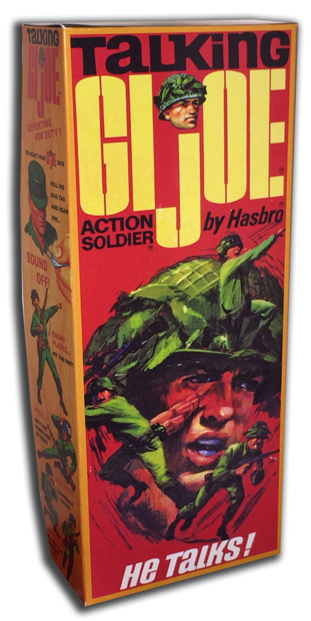 G.I. Joe: Talking Action Soldier Box