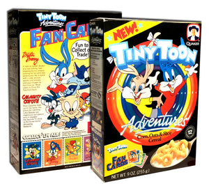 Cereal Box: Tiny Toons