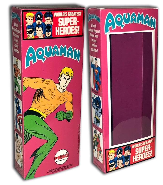 Mego WGSH Box: Aquaman